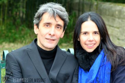 Jérôme Granjon & Sandrine Le Grand © Delphine Swierczewski